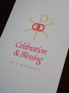 Marriage Booklet