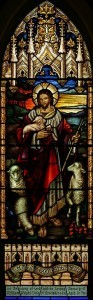 Stained Glass - Jesus the Good Shepherd