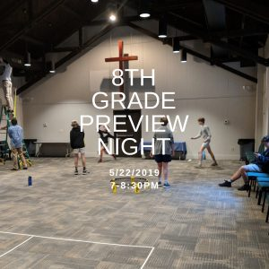 8th Grade Preview Night @ St. Andrews - Sams Hall | Mount Pleasant | South Carolina | United States