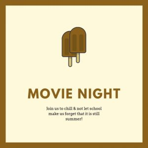 Middle School Back to School Movie Night @ Sams Hall | Mount Pleasant | South Carolina | United States